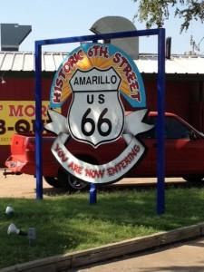 route 66, amarillo, texas