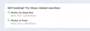 graph search suggestions