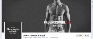 abercrombie and fitch facebook page