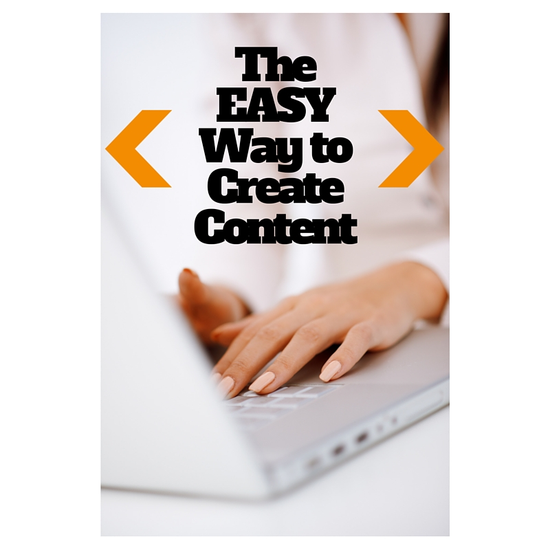 The EASYWay to CreateContent