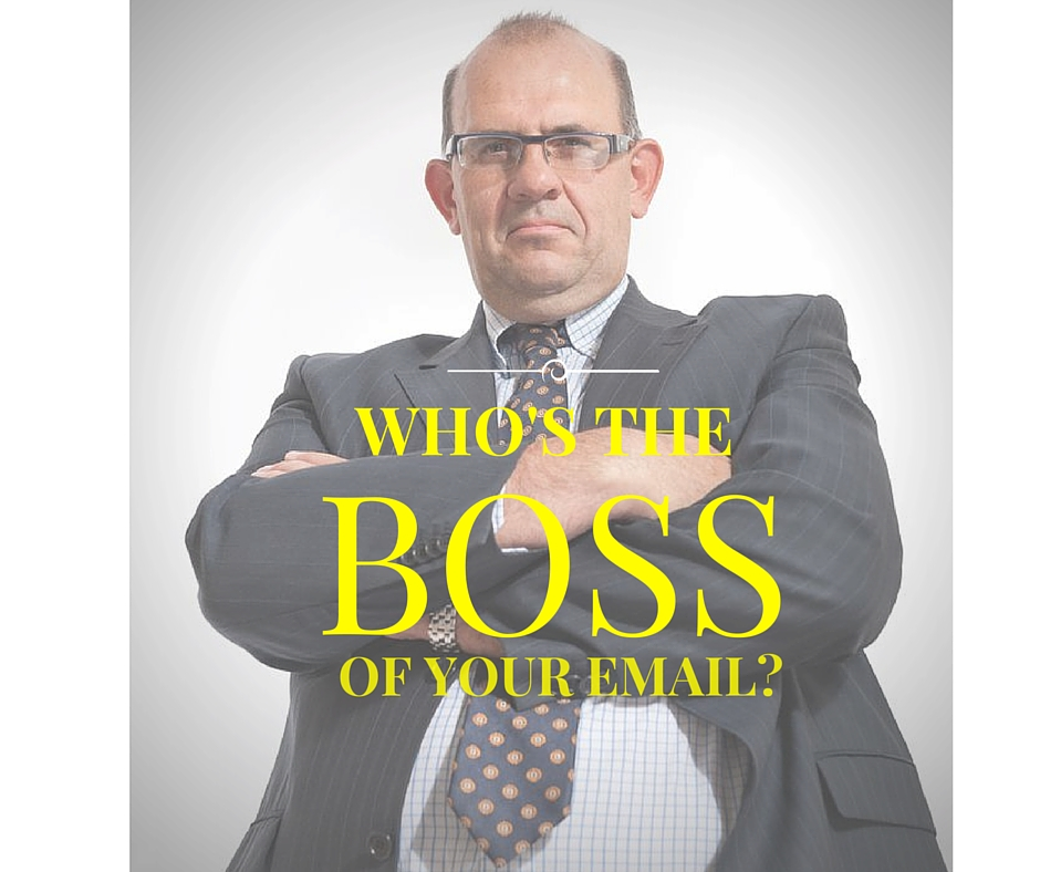 Whos the boss of your email